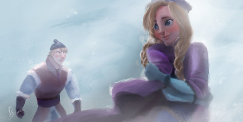 Childhood Animated Movie Heroines wallpaper titled Frozen