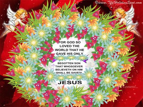 Valentine's Day wallpaper called GOD SO LOVED