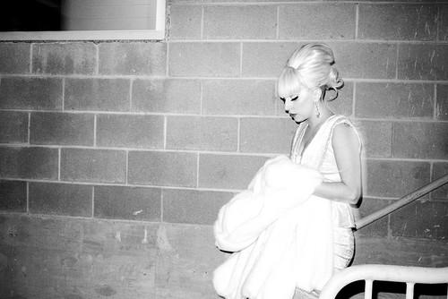 Gaga in Washington DC oleh Terry Richardson