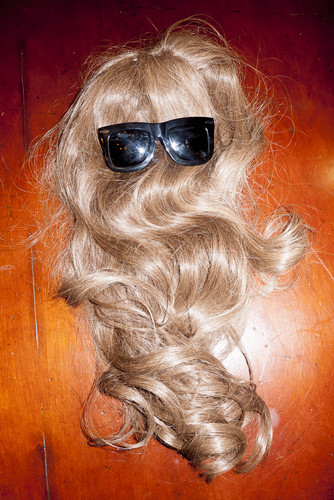 Gaga's wig & glasses by Terry Richardson
