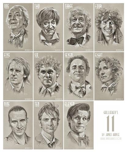 Gallifrey's Eleven