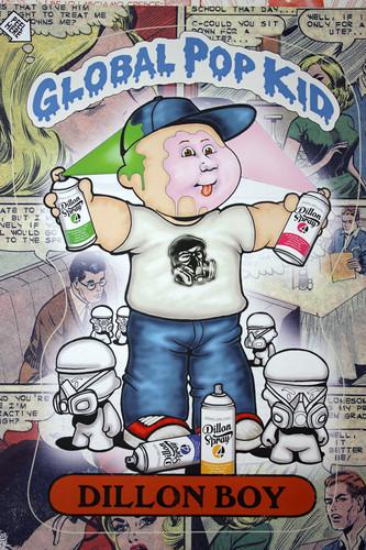 Garbage Pail Kids- Dillon Boy