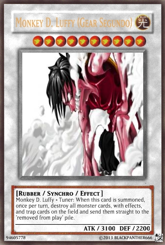 Gear Segundo Yugioh Card