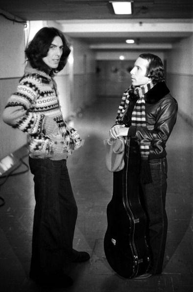 George Harrison & Paul Simon