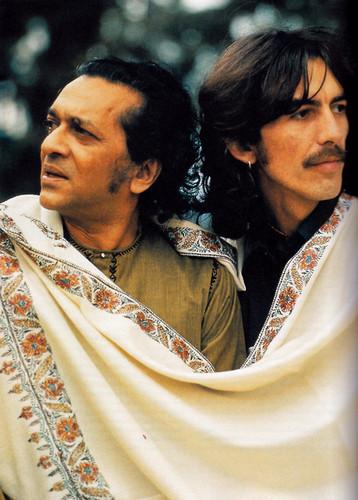 George Harrison & Ravi Shankar