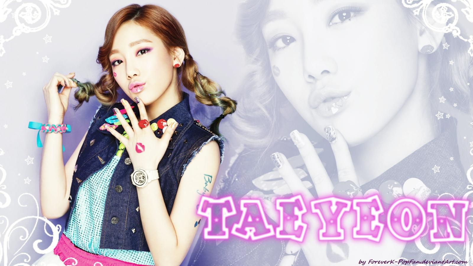 Taeyeon Kiss me Baby g Generation Kiss me Baby-g