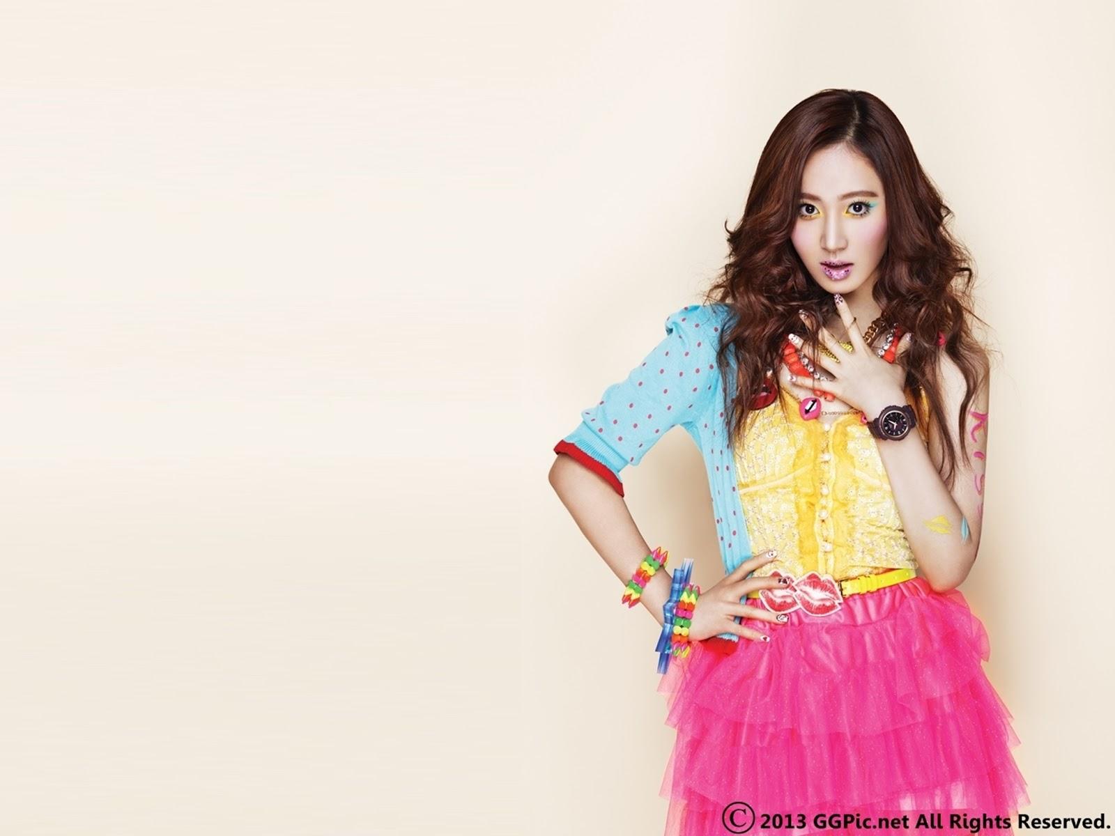 Girls Generation Kiss Me Baby-G by Casio || Yuri