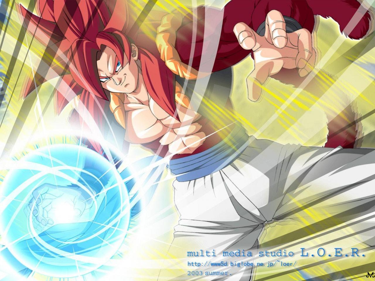 Gogeta Ssj4 Dragon Ball Todas Las Fusiones Fondo De