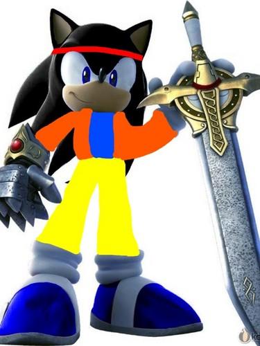 Goku And The Black Knight