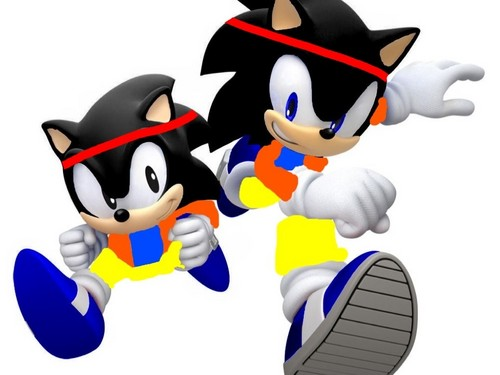 Goku The Hedgehog (Magic Generations)