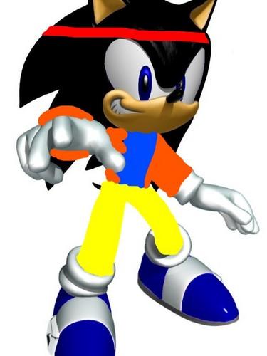 Goku The Hedgehog (Magic Heroes)