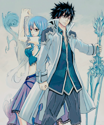 Fairy Tail wallpaper with Anime titled Gruvia