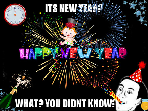 Puzzles and Brain Teasers fondo de pantalla possibly with anime called HAPPY NEW YEAR!!!!