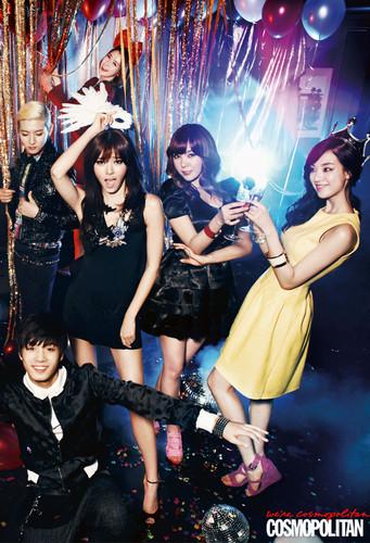 Happy Pledis For Cosmopolitan Korea Magazine