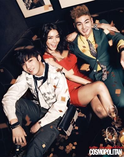 Hapy Pledis For Cosmopolitan Korea Magazine