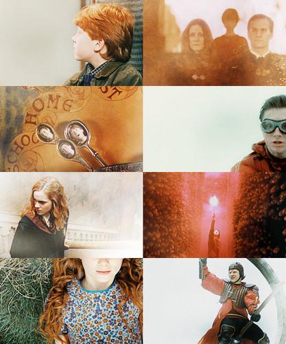 Harry Potter + オレンジ