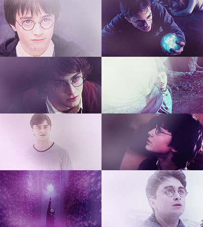 Harry Potter + purple