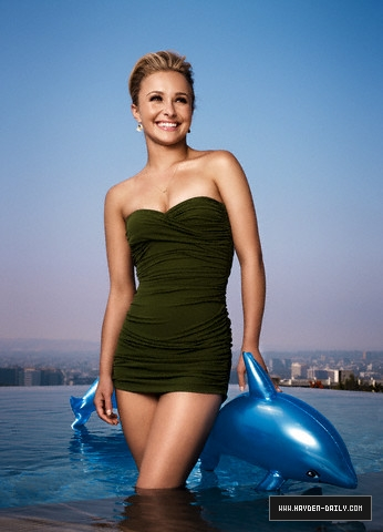 Hayden Panettiere wallpaper probably containing a leotard titled Hayden[:♥