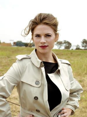 DemolitionVenom wallpaper probably containing a trench coat called Hayley Atwell