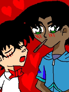 Heiji and Conan