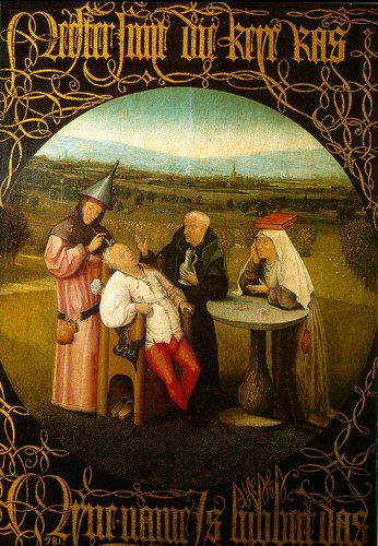 Hieronymous Bosch: The Extraction of the Stone Madness