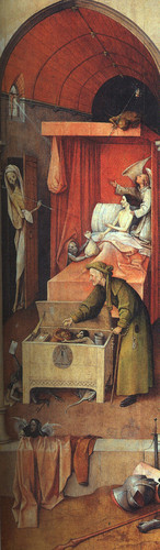 Hieronymus Bosch ~ Death and the Miser