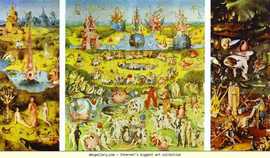 Hieronymus Bosch Garden Of Earthly Delights Full