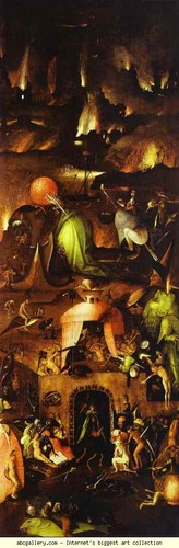 Hieronymus Bosch. Hell. 1500s