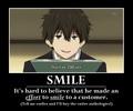 Houtarou Oreki's Smile