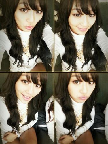 Hyorin's new hair ^^