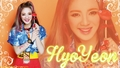 Hyoyeon Kiss Me Baby-G by Casio  - kim-hyoyeon-of-snsd wallpaper