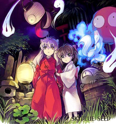 Inuyasha wallpaper containing anime entitled InuYasha