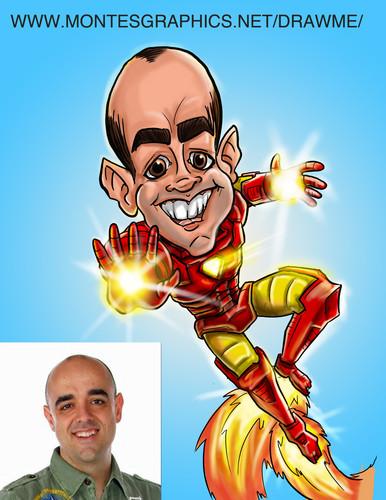 Iron Man Gift Caricature