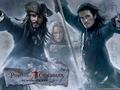 Jack, Will &amp; Elizabeth - pirates-of-the-caribbean wallpaper