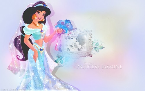 Aladdin wallpaper with a bouquet entitled Jasmine ~ ♥