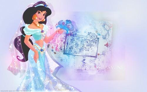 Aladdin wallpaper titled Jasmine ~ ♥