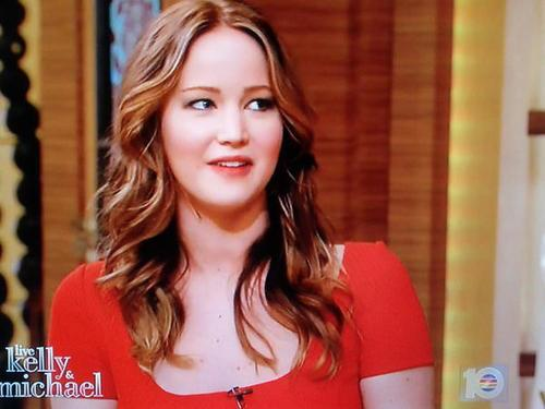 Jennifer on Live with Kelly and Michael