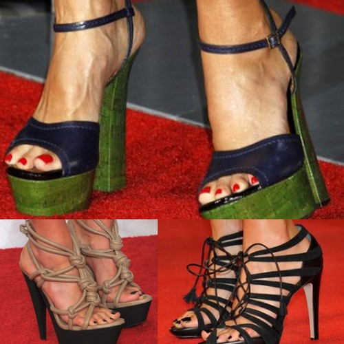 Jessica Alba's shoes