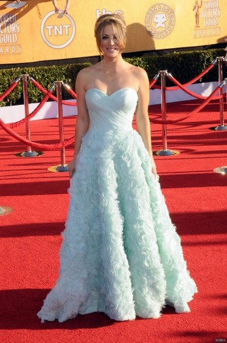 Kaley @ 18th Annual Screen Actors Guild Awards