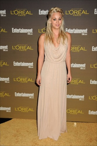 Kaley @ 2012 Entertainment Weekly Pre-Emmy Party