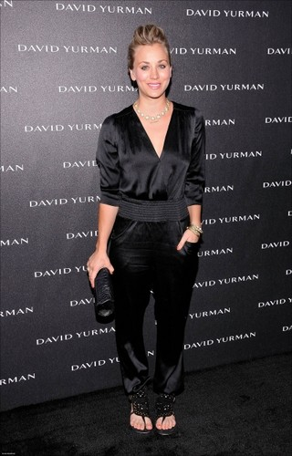 Kaley @ Opening of David Yurman's Flagship Store HQ