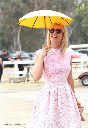 Kaley @ Third Annual Veuve Clicquot Polo Classic