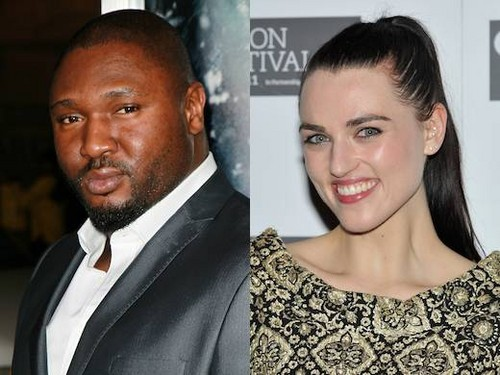 Katie McGrath and Nonso Anozie