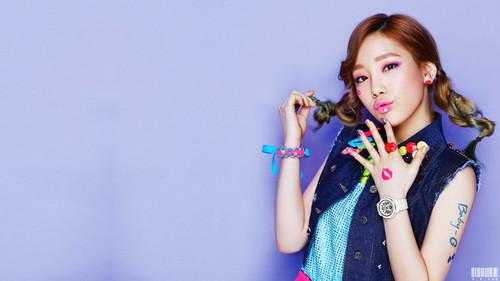 Taeyeon Kiss me Baby g Taeyeon Kiss me Baby-g by