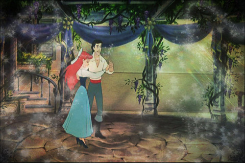 Ariel and Eric wallpaper titled Kingdom Dance