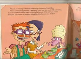 Kira & Chas in a page of a Rugrats book
