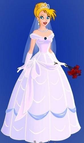 Kitara's wedding dress