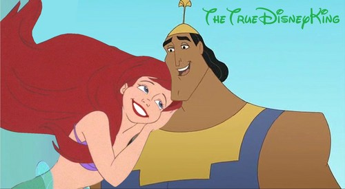 Kronk and Ariel