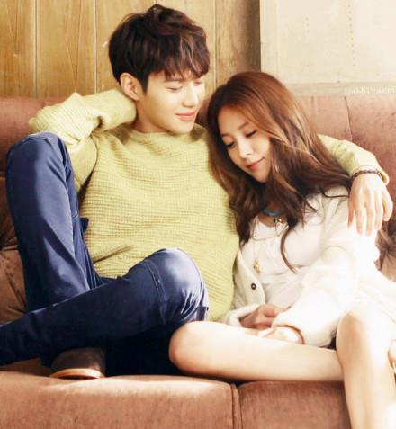 Kwon boa and SHINee Lee Taemin