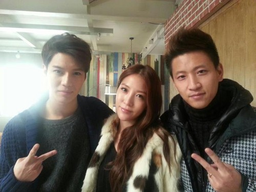Kwon BoA, SHINee Taemin, and BoA's Brother